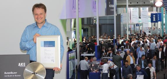 AKE Knebel GMbH получила первое место на выставке LIGNA 2013