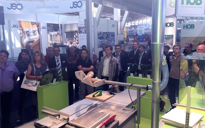 AKE Knebel GmbH приняла участие в крупнейшей выставке LIGNA