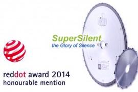 Алмазная дисковая пила SuperSilent победитель на Red Dot Design Award