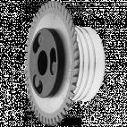 Подрезные дисковые пилы для дробилок древесных отходов с быстрозажимной системой Fixmatic P